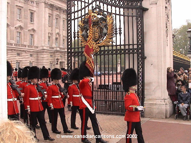 London, England - James/ Carlson family round the world trip